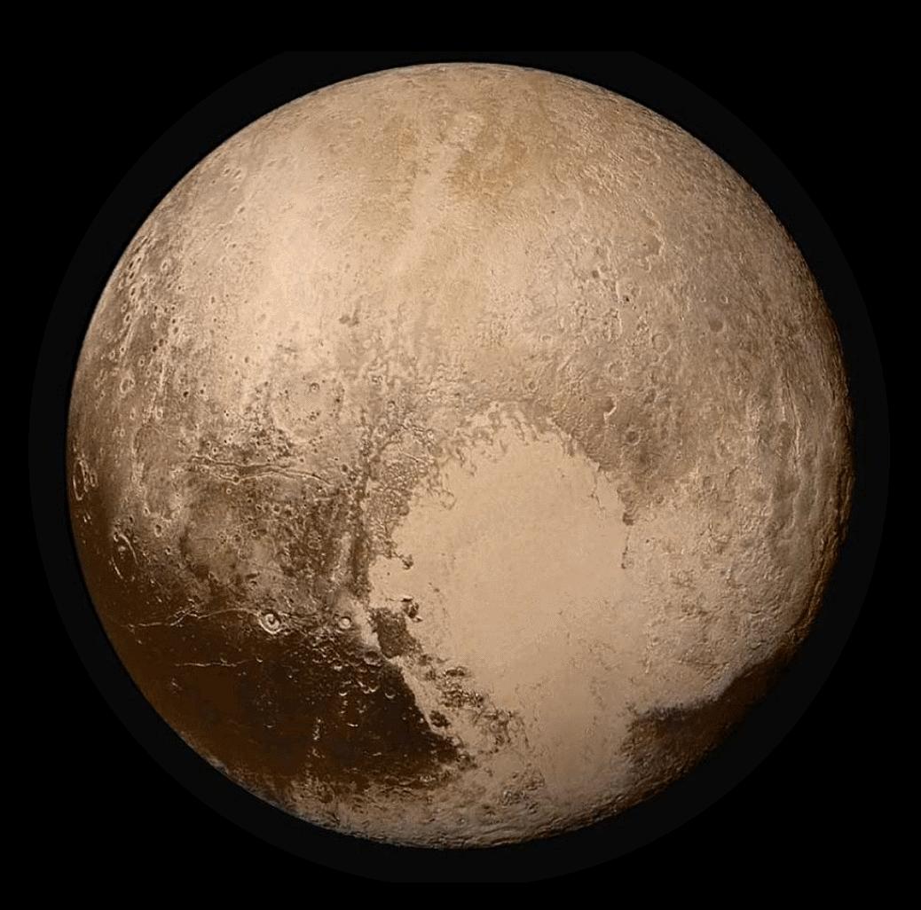 pluto planet size - photo #20